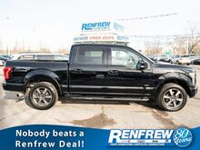 2016_Ford_F-150_Lariat SuperCrew 4x4, No Accidents, Pano Sunroof, Nav, Heated/Cooled Leather,_ Calgary AB