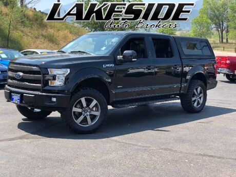 2016 Ford F-150 Lariat SuperCrew 5.5-ft. Bed 4WD Colorado Springs CO
