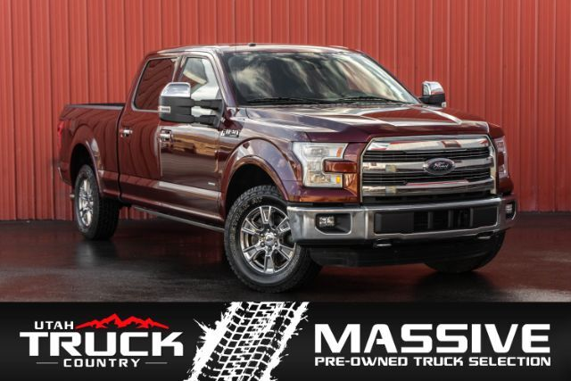 2016 Ford F-150 Lariat SuperCrew 5.5-ft. Bed 4WD Lehi UT