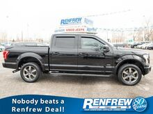 2016_Ford_F-150_Lariat Supercrew 4x4, Pano Sunroof, Nav, Heated/Cooled Leather,_ Calgary AB
