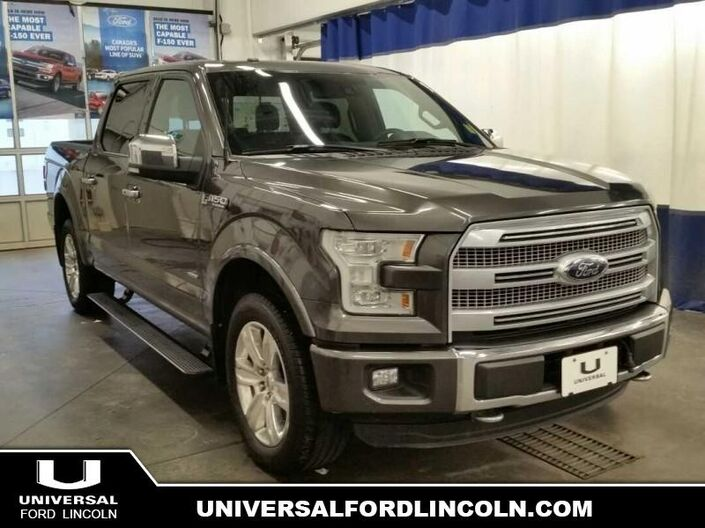 2016 Ford F-150 Platinum  - Certified Calgary AB
