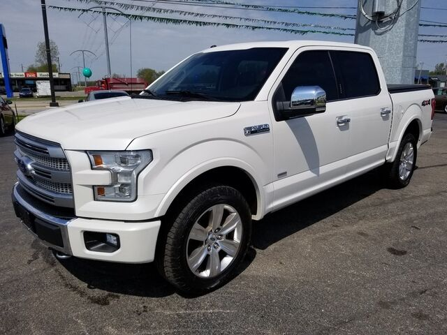 2016 Ford F-150 Platinum Fort Wayne Auburn and Kendallville IN
