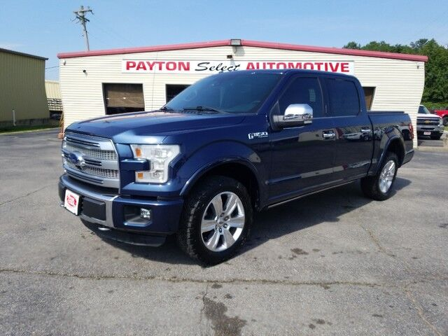 2016 Ford F-150 Platinum Heber Springs AR