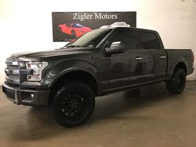 Ford F-150 Platinum One Owner Clean Carfax 2016