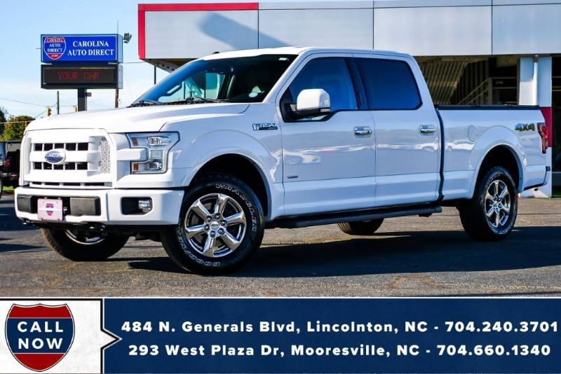 2016 Ford F-150 SuperCrew Lariat 4X4 w/ Heated Seats, Remote Start & NAV Mooresville NC