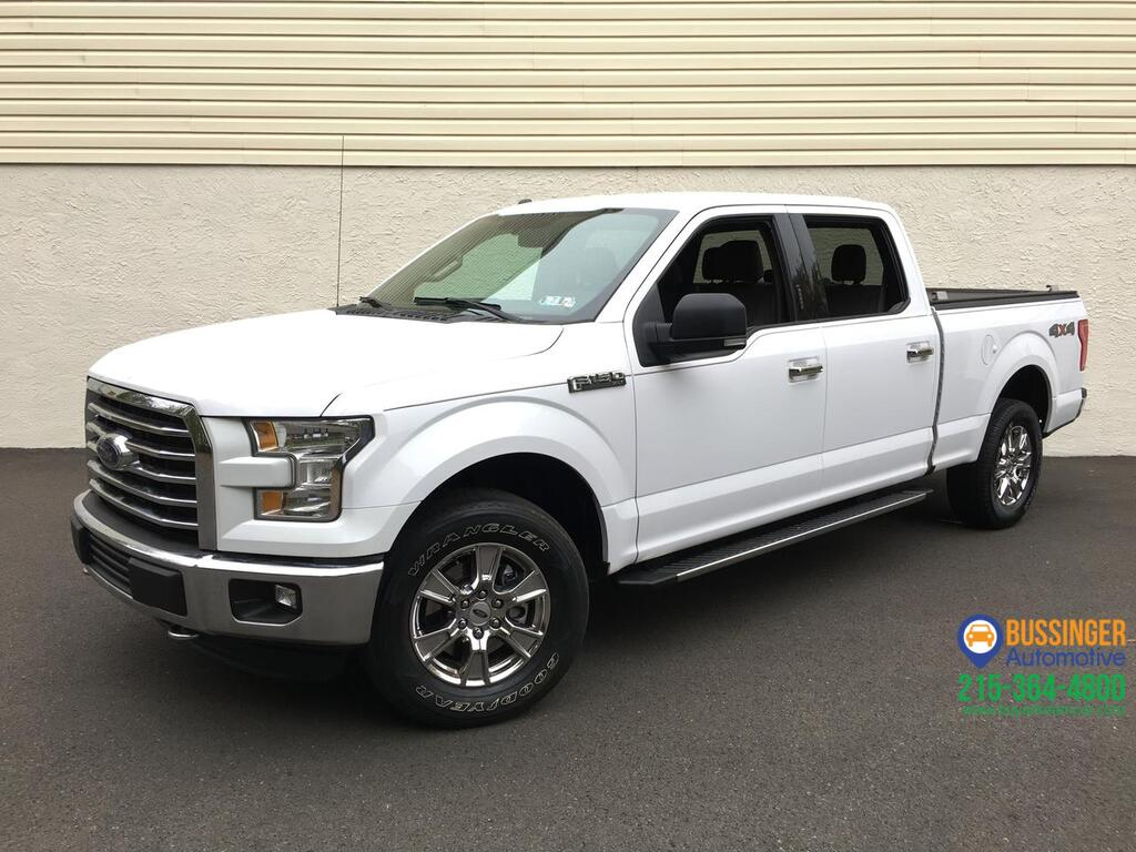 2016 Ford F-150 SuperCrew XLT - 4x4 Feasterville PA