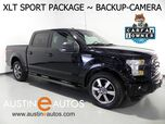 2016 Ford F-150 SuperCrew XLT 5.0L V8 *BACKUP-CAMERA, TOUCH SCREEN, SPORT APPEARANCE PKG, REMOTE START, 20 INCH ALLOYS, BLUETOOTH PHONE & AUDIO