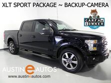 Ford F-150 SuperCrew XLT 5.0L V8 *BACKUP-CAMERA, TOUCH SCREEN, SPORT APPEARANCE PKG, REMOTE START, 20 INCH ALLOYS, BLUETOOTH PHONE & AUDIO 2016