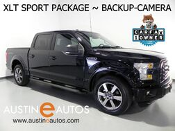 2016_Ford_F-150 SuperCrew XLT 5.0L V8_*BACKUP-CAMERA, TOUCH SCREEN, SPORT APPEARANCE PKG, REMOTE START, 20 INCH ALLOYS, BLUETOOTH PHONE & AUDIO_ Round Rock TX