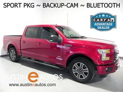 2016_Ford_F-150 SuperCrew XLT_*BACKUP-CAMERA, TOUCH SCREEN, SPORT APPEARANCE PKG, ALLOY WHEELS, BUCKET FRONT SEATS, BLUETOOTH PHONE & AUDIO_ Round Rock TX