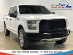 2016 Ford F-150 XL SUPERCREW 4WD AUTOMATIC ALLOY WHEELS BED LINER TOWING HITCH