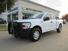 2016_Ford_F-150_XL SuperCab 8-ft. Bed 4WD CLOTH, TRUCK TOOL BOX, TOW PKG, TOW MIRRORS, BLUETOOTH, USB INPUT_ Plano TX