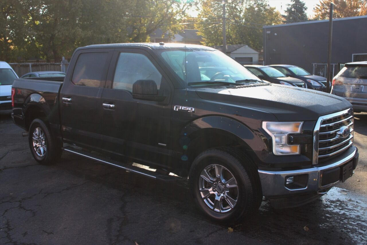 2016 Ford F-150 XLT 4x4 4dr SuperCrew 5.5 ft. SB Wyandotte MI