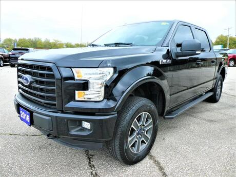 2016 Ford F-150 XLT 5.0L | Navigation | Blind Spot | Panoramic Roof Essex ON