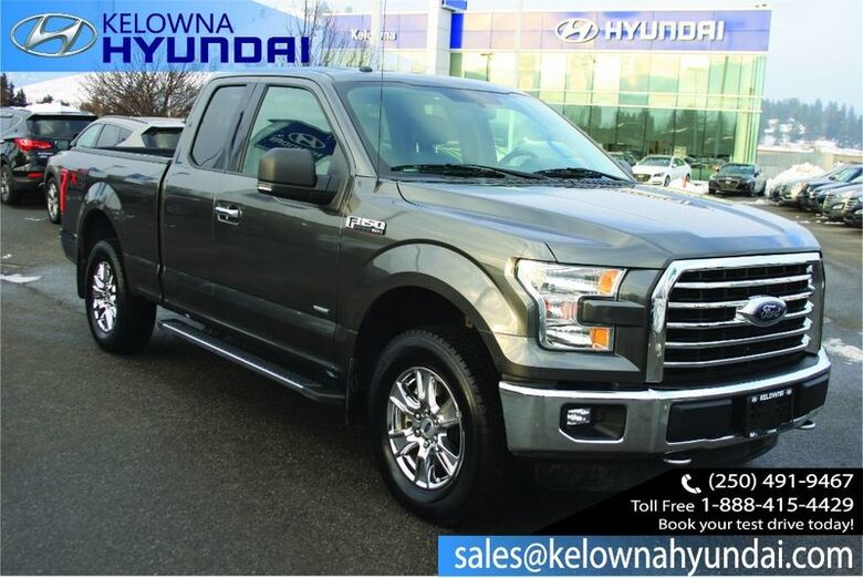 2016 Ford F-150 XLT Remote Keyless Entry, Back up cam Kelowna BC