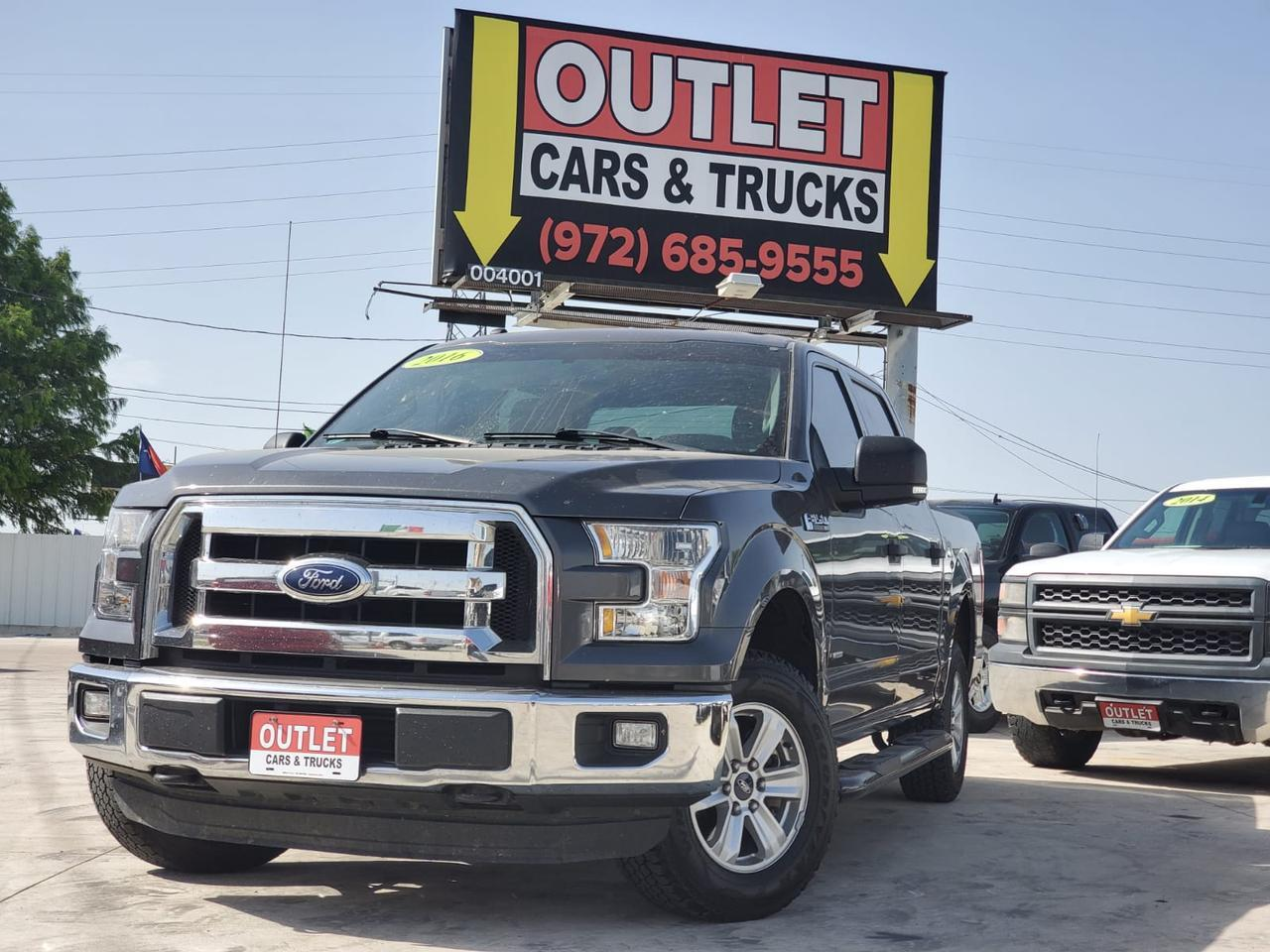 2016 Ford F-150 XLT SuperCrew 5.5-ft. Bed 4WD Dallas TX