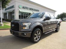 2016_Ford_F-150_XLT SuperCrew 5.5-ft. Bed 4WD LEATHER, SUNROOF, HTD FRONT SEATS, REAR PARKING AID, BACKUP CAMERA_ Plano TX