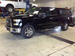 2016 Ford F-150 with topper XLT
