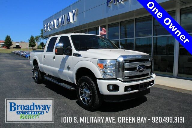 2016 Ford F-250SD Platinum Green Bay WI