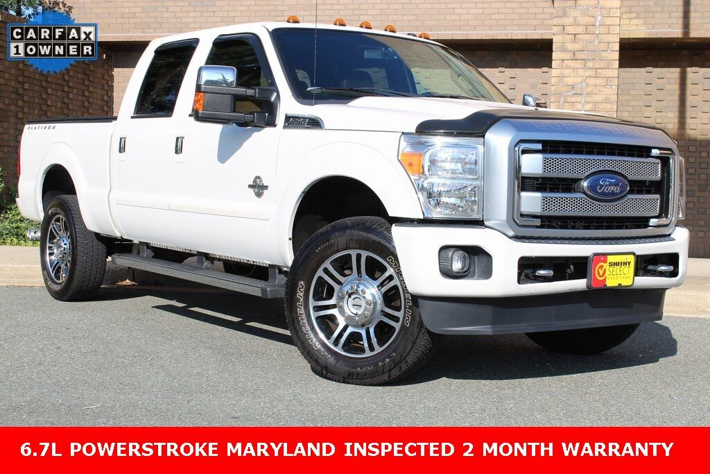 2016 Ford F-250SD Platinum Gaithersburg MD