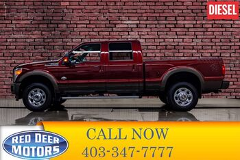 2016_Ford_F-350_4x4 Crew Cab King Ranch Diesel Leather Nav BCam_ Red Deer AB