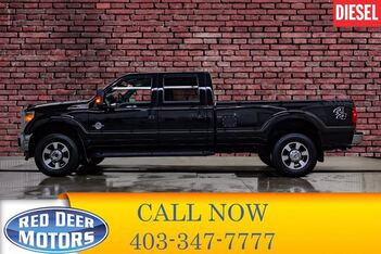 2016_Ford_F-350_4x4 Crew Cab Lariat Longbox Diesel Leather Nav BCam_ Red Deer AB
