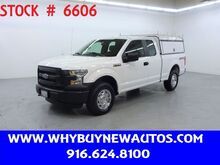2016_Ford_F150_~ 4x4 ~ Extended Cab ~ Camper Shell ~ Only 60K Miles!_ Rocklin CA