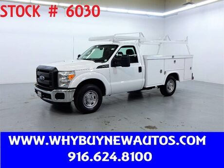 2016 Ford F250 Utility ~ Only 59K Miles! Rocklin CA