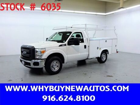2016 Ford F250 Utility ~ Only 60K Miles! Rocklin CA