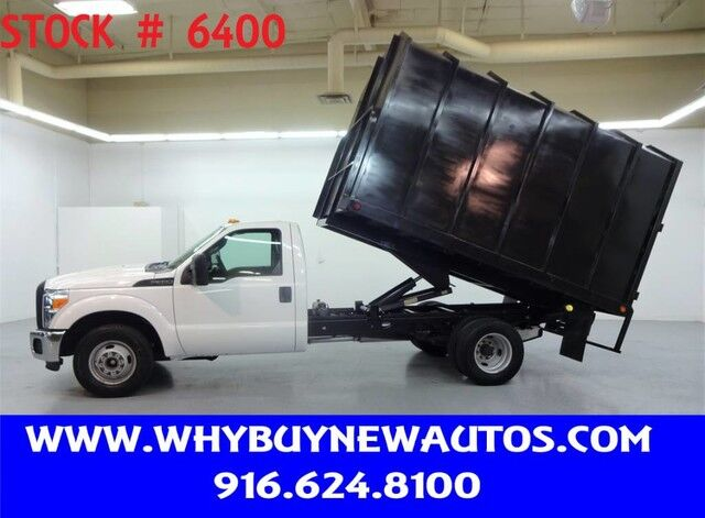 2016 Ford F350 ~ 12ft. Chipper Bed ~ Only 23K Miles! Rocklin CA
