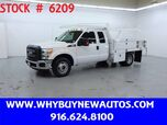 2016 Ford F350 ~ Extended Cab ~ 10ft. Contractor Bed ~ Only 13K Miles!