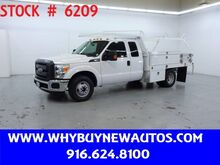 2016_Ford_F350_~ Extended Cab ~ 10ft. Contractor Bed ~ Only 13K Miles!_ Rocklin CA