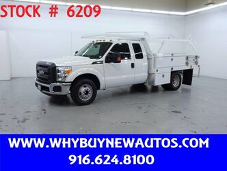Ford F350 ~ Extended Cab ~ 10ft. Contractor Bed ~ Only 13K Miles! 2016