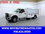 2016 Ford F350 Utility ~ 4x4 ~ XLT ~ Diesel ~ Only 2K Miles!