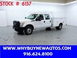 2016 Ford F350 Utility ~ Crew Cab ~ Only 3K Miles!