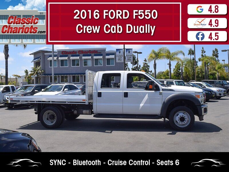 2016 Ford F550 Crew Cab Dually