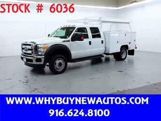 Ford F550 Utility ~ XLT Crew Cab ~ Only 30K Miles! 2016