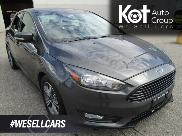 2016 Ford FOCUS SE! SWEET DEAL! BACKUP CAM! CLEAN UNIT! LOW PAYMENTS! Penticton BC