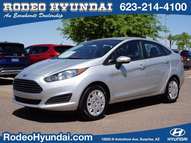 2016 Ford Fiesta 4d Sedan SE EcoBoost Surprise AZ