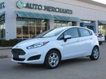 2016 Ford Fiesta SE Hatchback 1.6L 4 CYLINDER, AUTOMATIC, BLUETOOTH CONNECTION, AUXILIARY INPUT, AUTOMATIC HEADLIGHTS