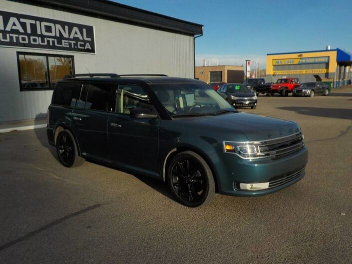 2016 Ford Flex Limited w/EcoBoost - LOW KLMS, CLEAN CAR PROOF Lethbridge AB