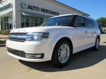 2016 Ford Flex SEL FWD. 3RD ROW, BACKUP CAM, BLUETOOTH, HEATED SEATS, KEYLESS START, DUAL ZONE CLIMATE CONTROL,
