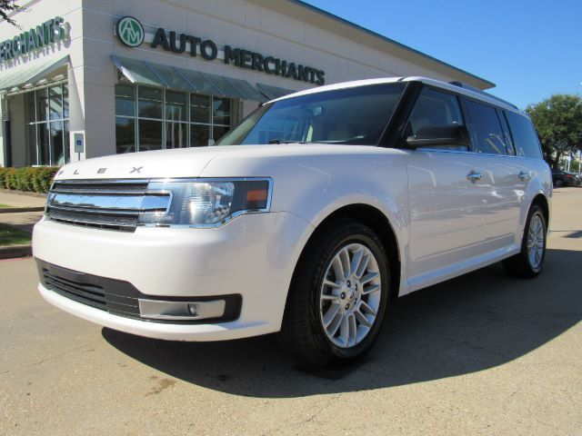 2016 Ford Flex SEL FWD. 3RD ROW, SUNROOF BACKUP CAM, HEATED SEATS, KEYLESS START, DUAL ZONE CLIMATE CONTROL, Plano TX