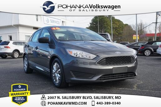 2016_Ford_Focus_S ** CLEAN CARFAX ** GREAT ON GAS **_ Salisbury MD