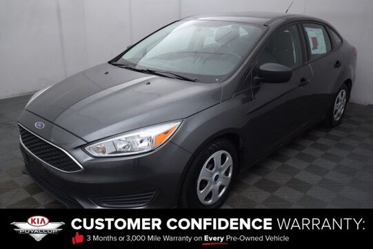 2016_Ford_Focus_S_ Puyallup WA