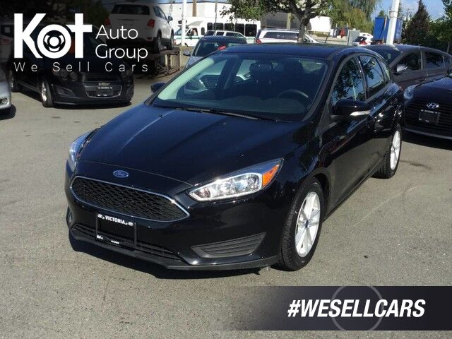 2016 Ford Focus SE No Accidents! Backup Camera Victoria BC