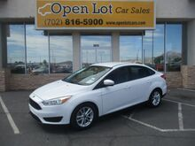 2016_Ford_Focus_SE Sedan_ Las Vegas NV