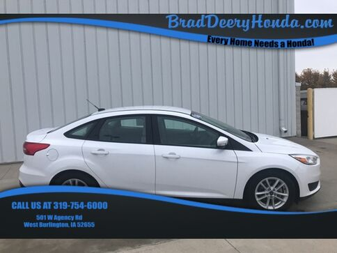 2016_Ford_Focus_SE_ West Burlington IA