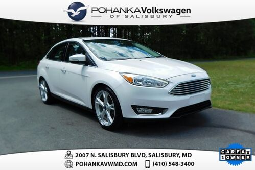 2016_Ford_Focus_Titanium ** ONE OWNER ** SUNROOF & NAVIGATION **_ Salisbury MD