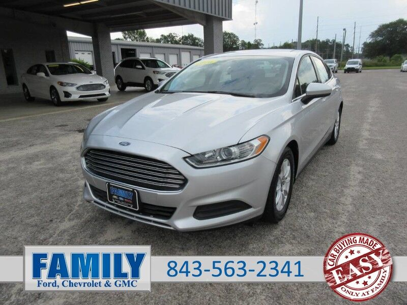 2016 Ford Fusion 4dr Sdn S FWD St. George SC